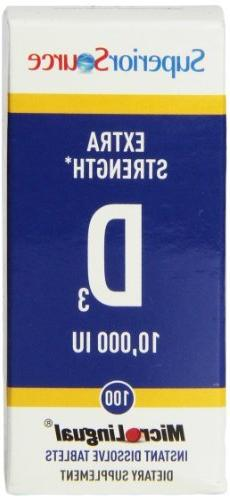 extra strength vitamin d3 10000iu