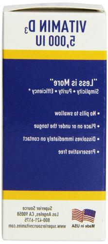 Superior Vitamin D3 IU Tablet, 100