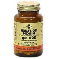 Solgar No-Flush Niacin 500 mg Vegetable Capsules  , 50 V Cap