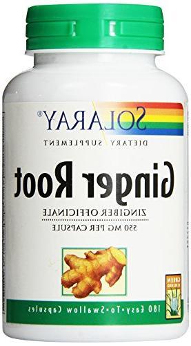 ginger root capsules