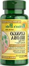 2 Pack of Puritan's Pride Ginkgo Biloba 120 mg