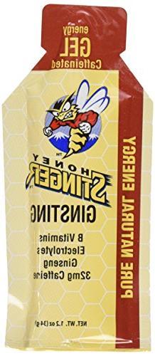 Honey Stinger Ginsting Energy Gel 24/1.2 oz Pkts