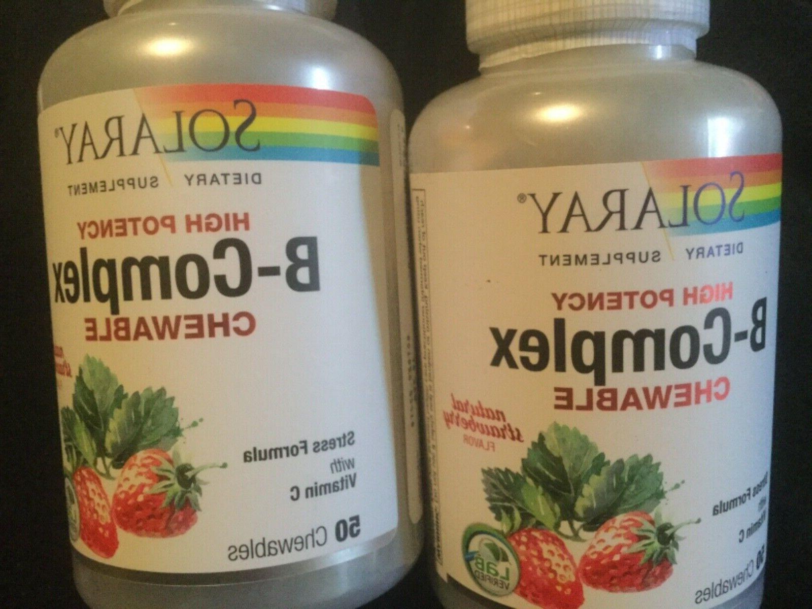 set of 2 high potency b complex