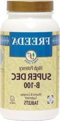 Freeda Kosher B Complex Super Dec B 100 mg. - 100 TAB