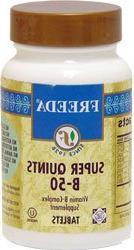Freeda Kosher B Complex Super Quints-50 mg. - 100 TAB by Fre