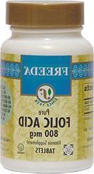 Freeda Kosher Folic Acid 800 Mcg. - 100 TAB