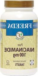 Freeda Kosher Niacinamide 100 Mg. 100 TAB