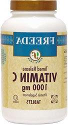 Freeda Kosher Vitamin C Time Release 1000 Mg. - 100 TAB