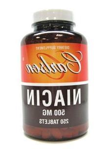 Carlson Labs - Niacin 500 mg 250 tabs