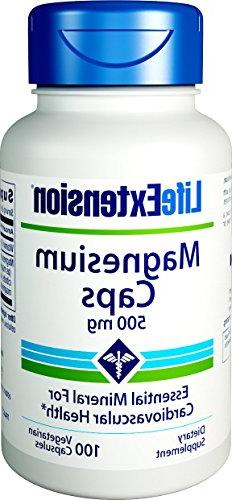 Life Extension Magnesium Caps - 500 mg - 100 Vcaps