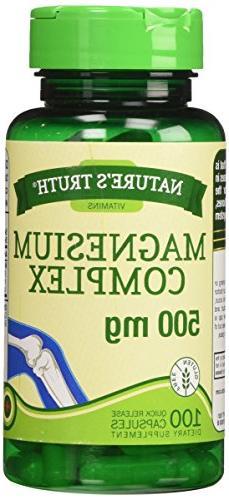 magnesium triple complex supplement