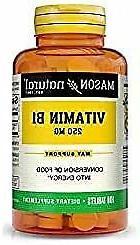 Mason Natural, Vitamin B-1 Thiamine Tablets, 250 Mg, 100-Cou