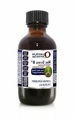 Quantum Max Stress B - Probiotic-Fermented Vitamin B Formula