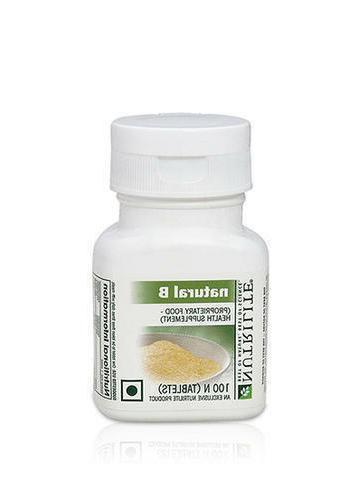 Amway Men, Women NUTRILITE Natural B, 100 Tablets