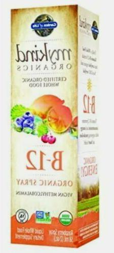 Garden of Life B12 Vitamin - mykind Organic Whole Food B-12