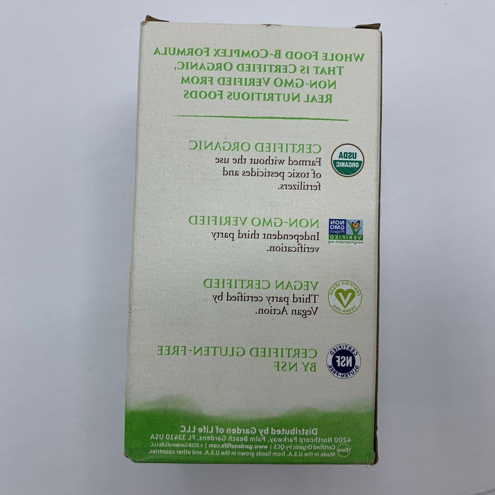 Garden Organics 30 Tablets EXP