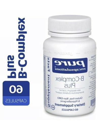 B-Complex Plus- B Vitamin Formula - 60c
