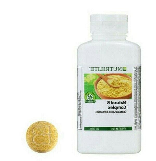 Amway NUTRILITE Natural B Complex 250 Tablets
