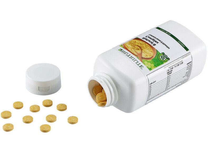 AMWAY NUTRILITE Natural B Complex Contains 7 B Vitamins - 25