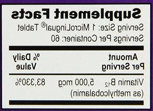 Superior No Methylcobalamin 60
