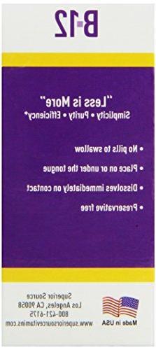 Methylcobalamin B12 Multivitamins, 60