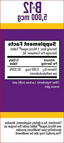 Superior Methylcobalamin 60 Count