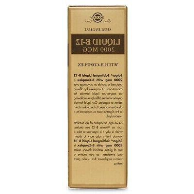 Solgar Sublingual - oz FREE SHIPPING