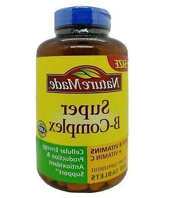 super b complex 360 tabs thiamin riboflavin