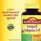 Nature Made Super B-Complex 460 Tablets; w/ Vitamin C & Foli