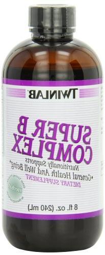 Twinlab Super B-Complex, Herbal, 8 Ounce