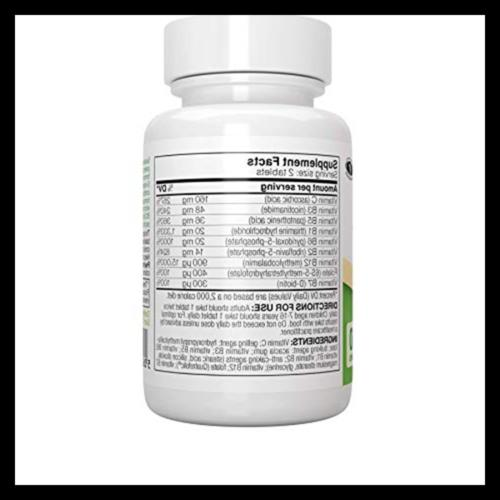 Super – Methylated Folate Methylcobalamin Vegan 60 Ta