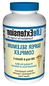 Life Extension - Super Selenium Complex & Vitamin E - 200 Mc