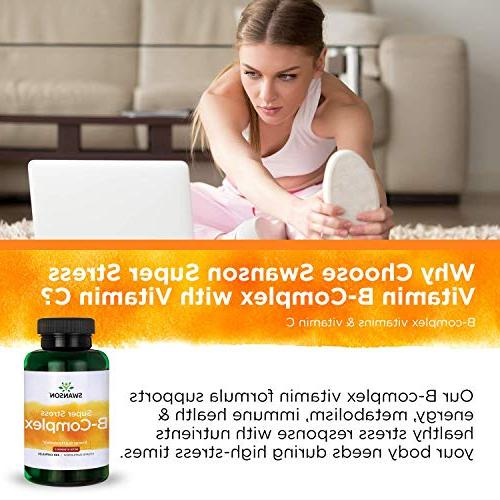 Swanson Vitamin B-Complex with Vitamin 240 Caps