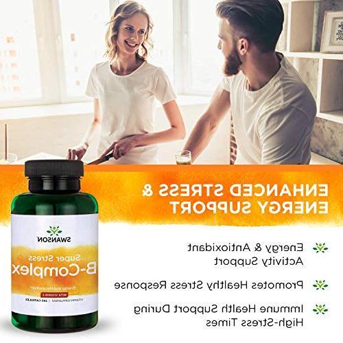 Swanson B-Complex Vitamin 240 Caps