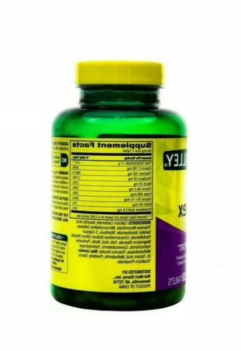 Spring Valley Super Vitamin B-Complex Supplement Metabolism Support 250