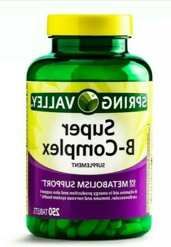 super vitamin b complex supplement metabolism support