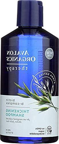 Avalon Organics, Thickening Shampoo, Biotin B-Complex Therap