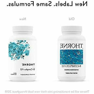 Thorne Research 12 Vitamin With Active B12 Capsules