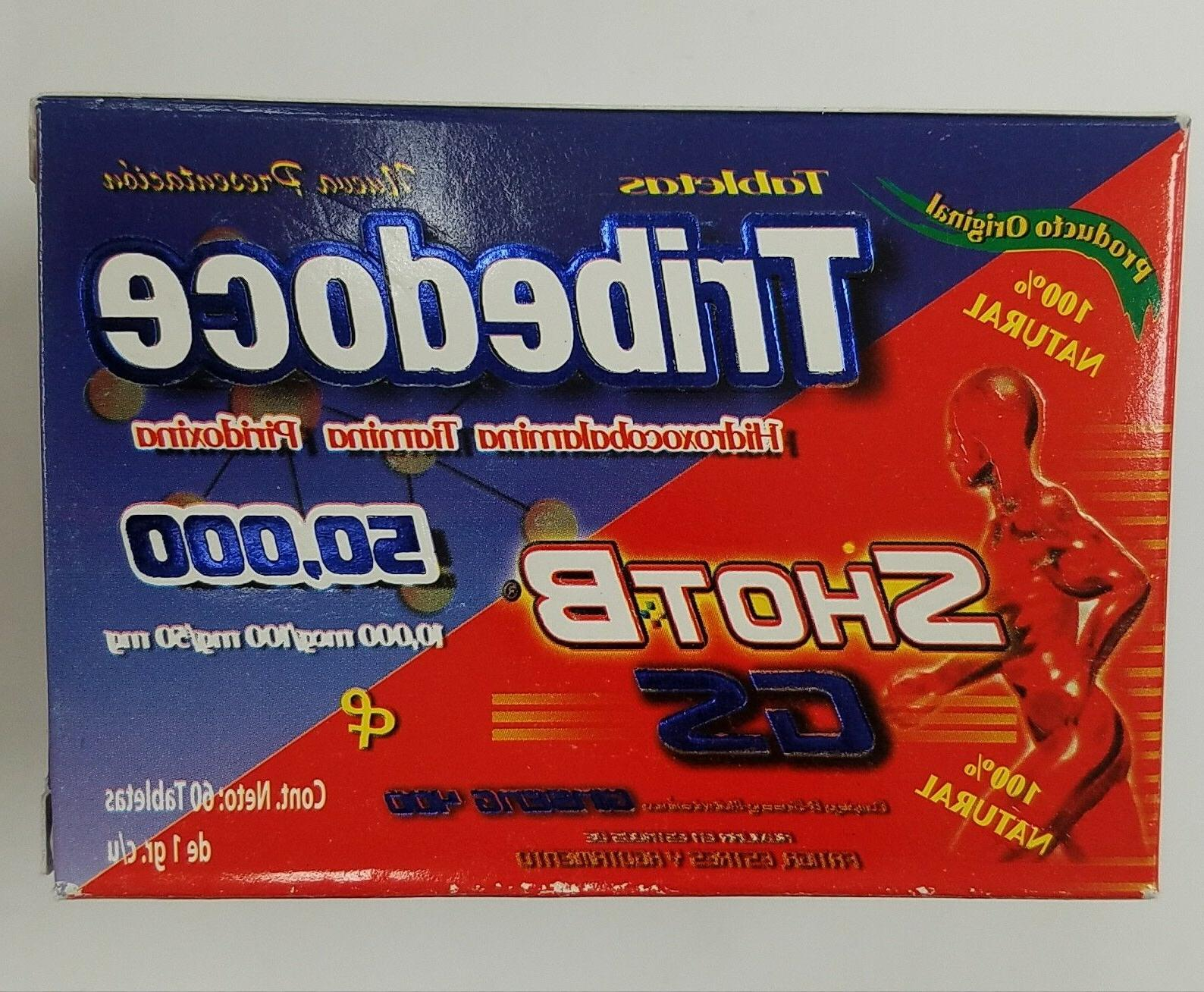 TRIBEDOCE SHOTB energy 60 tablets