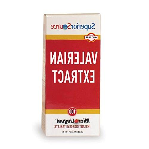 valerian extract nutritional supplements