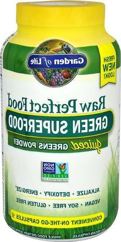 Garden of Life Vegan Green Superfood Supplement - Raw Perfec