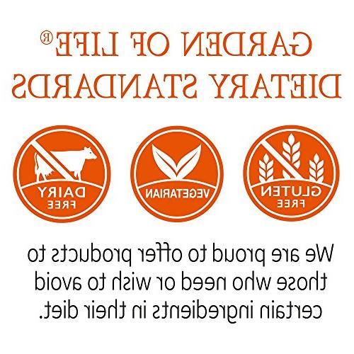 Garden of Life - Raw Whole Food Vitamin Supplement, Vegetarian, Orange Mango,