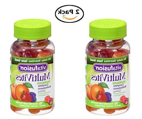 vitafusion multivites complete multivitamin