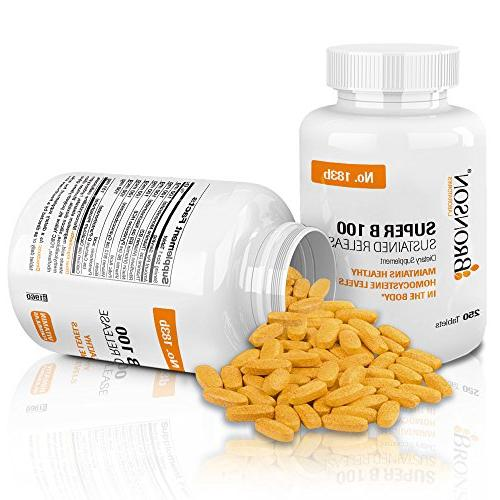Bronson Complex High Potency Release Tablets