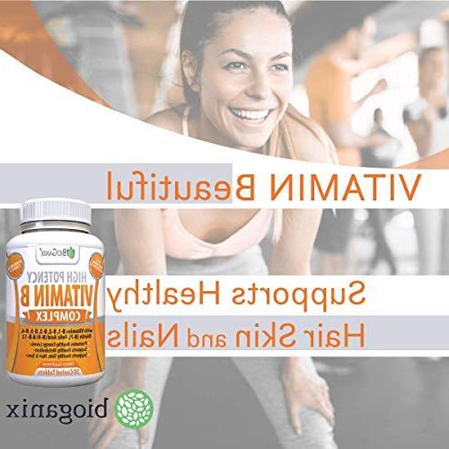 Vitamin Made in the | With B1, B2, B6, Biotin B9 Vegan, Capsules Metabolism,