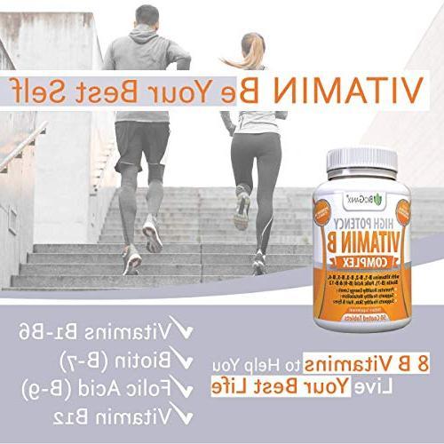 Vitamin Made | Vitamin B1, B3, B5, B6, B7 B9 Folic Vegan, Capsules Metabolism, Hair & Eyes