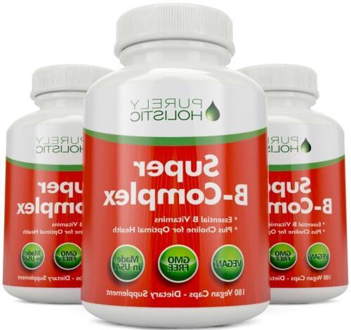 Vitamin B Complex 8 Super 180 Capsules