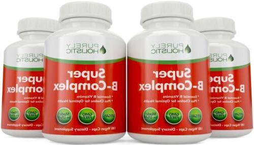 Vitamin B Complex - 8 B Vits 180 with & Inositol US