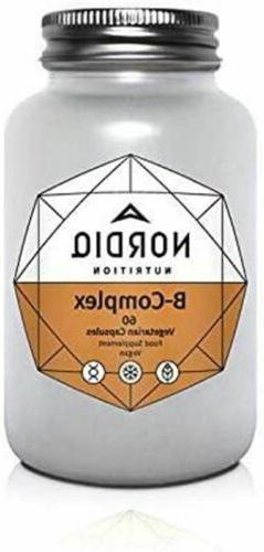 Vitamin B Complex - Vitamins B12 B1 B2 B3 B5 B6 B7 B9  Folic