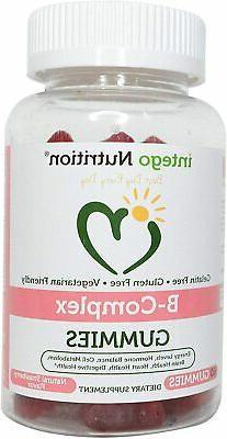 Vitamin B-Complex Chewable Gummies  - Adult Multivitamin - P